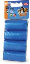 Nobby tidy up poepzakjes blauw - 8 rollen X 15 st