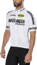 Brügelmann Bioracer Pro Team LTD Jersey Heren, white Maat XL