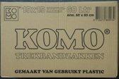 KOMO trekbandzakken - doos - 15 rollen x 15 stuks