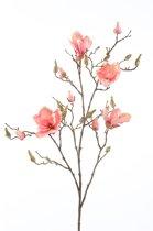 Emerald - Kunstbloem - Royale magnoliatak - 105 cm - Roze