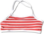 Little Red Fish - bikini topje - Red/White Stripes
