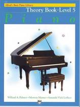 Alfred's Basic Piano Library Theory, Bk 5