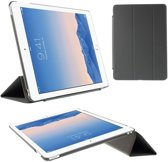 Tri-Fold Smart PU Leather Case Cover  voor Apple iPad Air 2 - Grijs