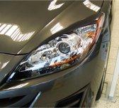 Dynamik Koplampspoilers Mazda 3 2010- (ABS)