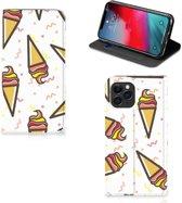 iPhone 11 Pro Flip Style Cover Icecream