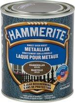 Hammerite Metaallak Hamerslag - Bruin - 750ml