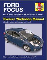 Ford Focus petrol & diesel (Oct '14-'18) 64 to 18