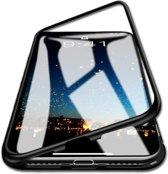 Magnetic hoesje voor iPhone 7 en 8 | Magnetisch | Telefoon case | Zwart | + BM Goods micro fiber screen schoonmaak doekje | iPhoned