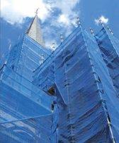 Steigernet – Steigerdoek Zwart 75 g/m²  - 2.07 x 50.00 meter
