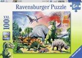Ravensburger Tussen de dinosauriërs - Puzzel van 100 stukjes