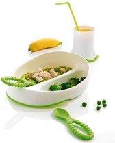 Baby bestek / servies cadeauset, groen - Mastrad Baby