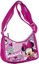 Disney Minnie Mouse schoudertas roze 18x6x13 cm