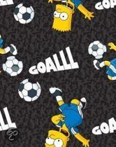 Rekbare Boekenkaft - Simpsons - A4