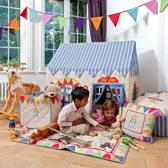 Win Green - Toyshop Playhouse - Klein met mat