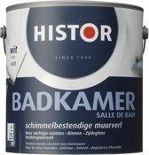 Histor Badkamer Muurverf 2 5 liter Wit