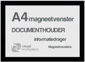 Magneetvensters A4 - Zwart