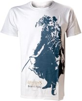 Assassin's Creed IV T-Shirt Wit met Black Beard Maat XL