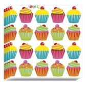Cupcake servetten 20 stuks - wegwerpservetten