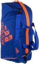 Adidas Sporttas Blauw/oranje 60 Liter Maat M