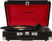 Crosley Cruiser Deluxe Draaitafel met riemaandrijving Zwart, Rood