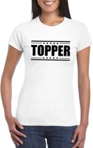 Topper t-shirt wit dames S
