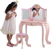 KidKraft Kaptafel en krukje Prinsessen