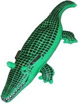 Opblaaskrokodil | Opblaasbare krokodil met handvaten