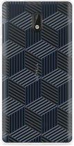 Nokia 3 Hoesje Isometric Pattern