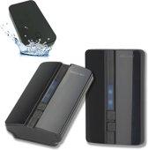 Luxe draadloze deurbel, waarbij batterijen niet nodig zijn - set met twee ontvangers - 51 melodieën - volume instelbaar - plug & play -