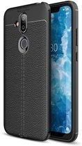 Just in Case Nokia 8.1 Back Cover Soft TPU Zwart