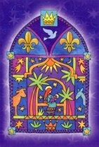 Dubbele Religieuze Kerstkaarten 3 - 6 stuks
