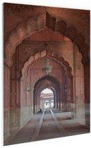 Architectuur India Glas 40x60 cm - Foto print op Glas (Plexiglas wanddecoratie)