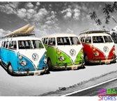 """Diamond Painting """"JobaStores®"""" Volkswagen Busjes - volledig - 40x50cm"""