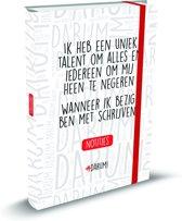Darum notitieboek 1 Uniek talent