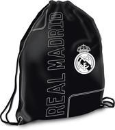 Real Madrid - Gymbag - 42 cm hoog - Zwart
