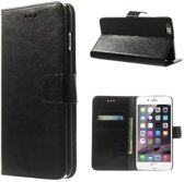 Cyclone wallet hoesje iPhone 6 zwart