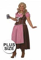 Oktoberfest Lange Dirndl jurk 42 (xl)