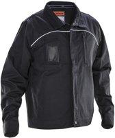 Jobman 1321 Service Jacket Zwart/Wit maat L