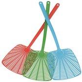 Extra Brede Ophangbare Kunststof Vliegenmepper Set - 3 Stuks - Diverse Kleuren Vliegenmeppers - Vliegen Meppen - Breed - OphangenInsecten & Ongedierte -
