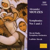 Moyzes: Symphonies no 1 & 2 / Slovak, Slovak Radio SO