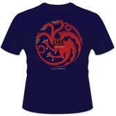 Merchandising GAME OF THRONES - T-Shirt - Fire and Blood Targaryen (XXL)