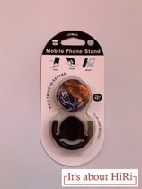 Lion - Mobiele telefoonhouder- standaard- devicebutton- gratis houder- mount- pop- telefoonbutton en mount in één – stamp grip- sock-navigatiehouder - It's about Hiri
