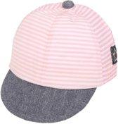 Baby petje   koel   verstelbaar   roze/wit