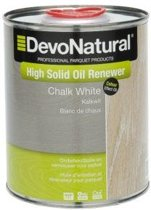 DevoNatural High Solid Oil Renewer kalkwit / Onderhoudsolie - 1 liter
