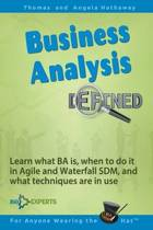 Business Analysis Defined