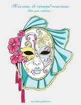 M scaras de Carnaval Venecianas Libro Para Colorear 1