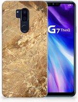 LG G7 Thinq TPU Hoesje Design Marmer