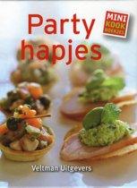 Omslag van 'Minikookboekje: partyhapjes'
