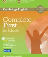 Complete First for Schools workbook + answers + audio-cd