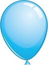Topballon lichtblauw (Ø91cm, 6st)